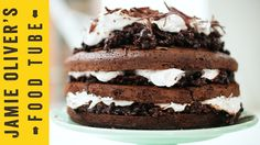 How To Cut A Cake Into Three | Jamie's Comfort Food | Kerryann Dunlop