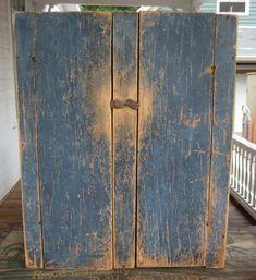 Blue Hanging Cupboard