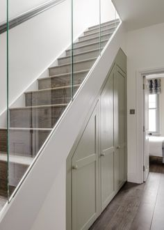 The New & Reclaimed Flooring Company realises the importance of close collaboration in all areas of project specification and design. For this reason The New & Reclaimed Flooring Company realises the importance of close collaboration in all areas of Closet Under Stairs, Under Stairs Cupboard, Basement Stairs, House Stairs, Storage Under Stairs, Under The Stairs Toilet, Modern Staircase, Staircase Design, Staircase Pictures