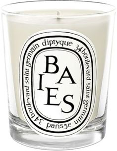 Diptyque Baies candle. Black Currant and Rose.