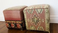 Old kilim ottoman ref....Greg Chait The Elder Statesman « the selby