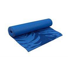 Eco-Friendly 5 mm Double Vein Yoga Mat in Maltese Tiger Blue * You can find more details by visiting the image link.
