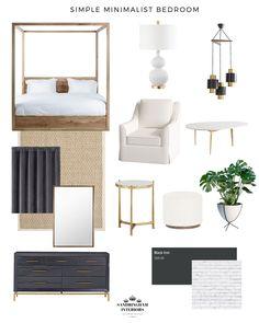 Modern Minimalist Bedroom, Minimalist Interior, Modern Bedroom, Minimalist Decor, Home Bedroom, Bedroom Decor, Master Bedroom, Bedroom Colors, Bedroom Ideas