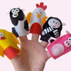 Fun with the Farm Animals Finger Puppets £9.99