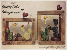 Pebble Painting, Pebble Art, Stone Painting, Rock Crafts, Diy And Crafts, Crafts For Kids, Stone Cactus, Painted Rocks Craft, Ceramic Birds