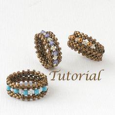 Bague perlée tutoriel que je suis avec le téléchargement numérique de bande par JewelryTales sur Etsy https://www.etsy.com/fr/listing/61180035/bague-perlee-tutoriel-que-je-suis-avec