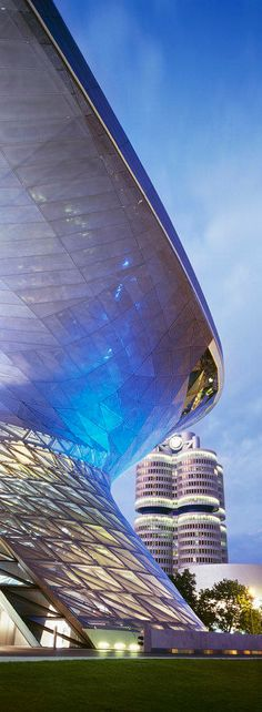 BMW Welt, Modern Architektur, Futuristisch