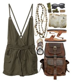 """Safari"" by ritaflagy ❤ liked on Polyvore featuring Ben-Amun, women's clothing, women's fashion, women, female, woman, misses and juniors"