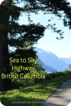 Sea To Sky Highway in British Columbia: a scenic drive
