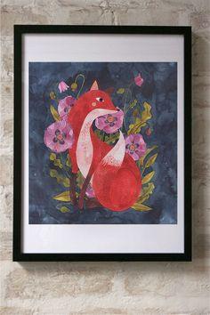 A fine art print entitled Fox by Oana Befort!