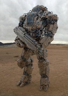 Mech warrior