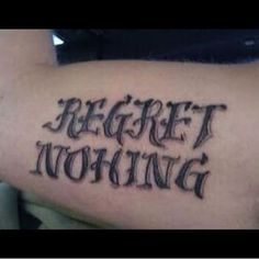 And always: | 29 Heartbreakingly Misspelled Tattoos