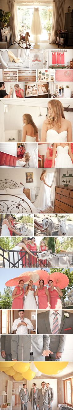 I want to my a photo series like this of my wedding when I get married :) sooo cutee