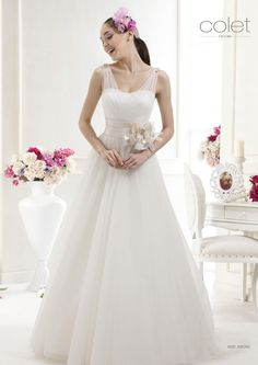 Collezione abiti da sposa #Colet 2012, abito da #sposa 63574C