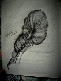 Trying a sketch of an hair style
