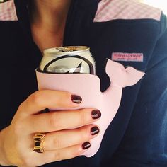 cute VV whale coozie
