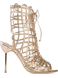 Shop Sophia Webster 'Delphine' lace-up sandals in Tiziana Fausti from the world's best independent boutiques at farfetch.com. Over 1500 brands from 300 boutiques in one website.