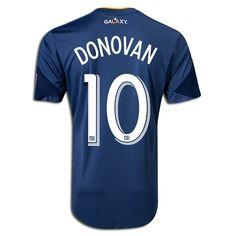 76c7f93ed Cheap 2013 Landon Donovan  10 LA Galaxy Authentic Away Men s Soccer Jersey