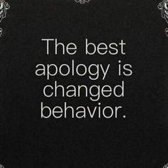 Best apology