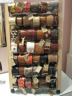 display for our cuffs