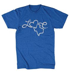 Love Texas - Unisex T-shirt – Tumbleweed TexStyles #shoptwt