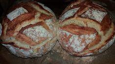 Κρουασάν με ζύμη γιαουρτιού. Food And Drink, Bread, Homemade, Recipes, Kitchens, Home Made, Brot, Recipies, Baking
