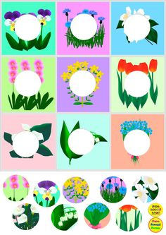 Educational Activities For Kids, Easter Activities, Spring Activities, Book Activities, Kindergarten Special Education, Kids Education, Toddler Learning, Teaching Kids, Flower Crafts Kids