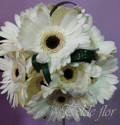 Bouquet Novia de Gerberas Florstería Telde flor