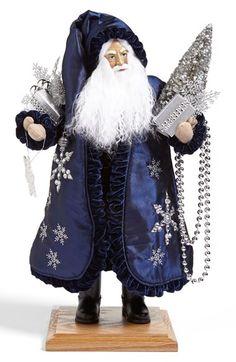 Lynn Haney 'Midnight Walk' Santa Figurine available at #Nordstrom