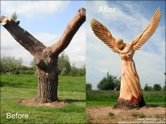 15 Impressive Chainsaw Carvings
