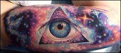 Templo de tatuajes de colores