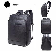 2017 New Vintage Men Backpack Quality Laptop Bag Simplicity Fashion Shoulder Bag Men's Backpacks, School Backpacks, Laptop Backpack, Backpack Bags, Simplicity Fashion, Laptop Computers, Computer Laptop, Notebook Laptop, Laptop Accessories