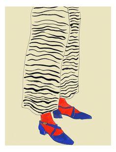 Artist Rosie Mcguinness at Illustration Division Art And Illustration, Painting Inspiration, Art Inspo, Pinturas Art Deco, Arte Sketchbook, Wow Art, Painting & Drawing, Art Reference, Modern Art