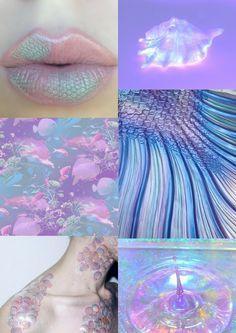 Pastel Mermaid Aesthetic