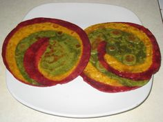 Tri-colored paratha ( Indian tri colored fried bread ) recipe - sub grain-free flour