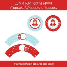 RED RIDING HOOD by etsy