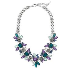 Midnight Reverie Statement Necklace Introducing our newest collection, Lumière Holiday 2014 @Chloe + Isabel Shop with me: Angie Kritenbrink #jewelry #fashion