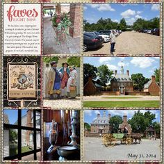 Our first day in Colonial Williamsburg...