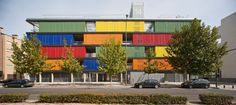 SOCIAL HOUSING BUILDING IN CARABANCHEL. MADRID - A project by Temperaturas Extremas Arquitectos SLP
