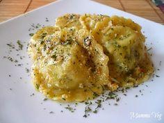 Mamma Veg: Ravioli tofu e spinaci con sugo di noci