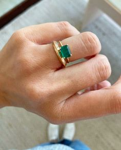 Jane Pope Cooper incorporates imperfect & organic lines into unique gold jewelry. Shop delicate rings & bracelets, layered necklaces, and earrings. Gems Jewelry, Jewelry Accessories, Emerald Wedding Rings, Golden Ring, Oval Rings, Engagement Bands, Dress Rings, Delicate Rings, Necklaces