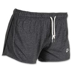 Women's Nike Time Out Tempo Shorts in Heather Gray