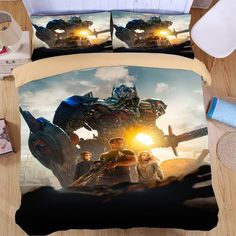 The Transformers Duvet Cover Set