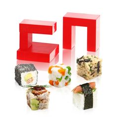 Rice cube for making sushi the easy way http://store.kitchenscookshop.co.uk/swift-rice-cube.html