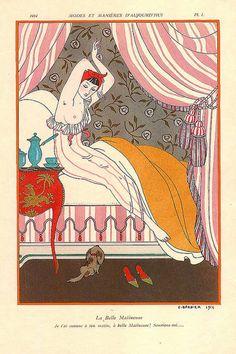 1914 La Belle Matineuse - George Barbier