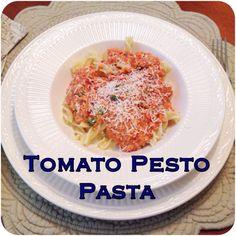 Tomato pesto pasta