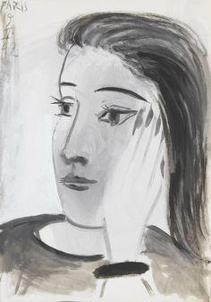 Picasso- Portrait de Dora Maar- 1942