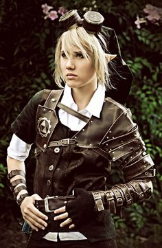 Steampunk Link from Zelda fame.