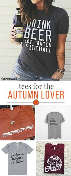 """Fall"" in love with these tees that celebrate your favorite season!"