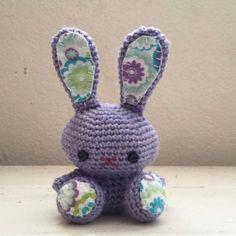 Tiny bunny still up for grabs at sixthandDurian.etsy.com #etsy #etsyshop #etsyseller #etsysellersofinstagram #newworlddesigners #nwd_sixthanddurian #amigurumi #amigurumist #amigurumidoll #bunny #cute #handmade